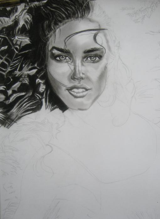 Emily DiDonato by gerryleene